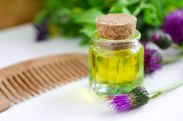репейное и касторовое масло для бороды