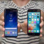 Сравнение Samsung Galaxy S9 и Iphone XS