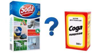 Чем отличается кальцинированная сода от пищевой: что это такое, применение