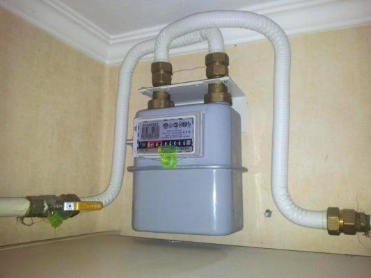 счетчики газа для квартиры