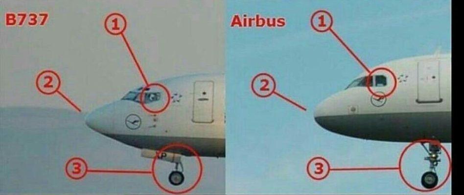 чем отличается Боинг от Аэробуса