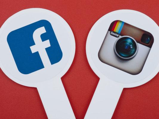 чем отличаются инстаграм и фейсбук
