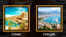 что лучше Кипр или Тунис