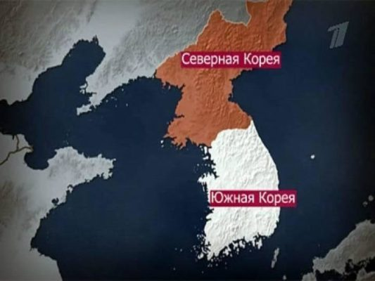 Что севернее Южная или Северная Корея