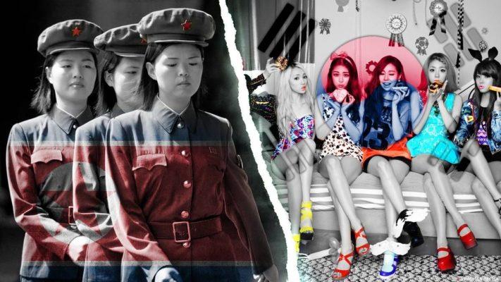 Северная и Южная Корея - уровень жизни населения