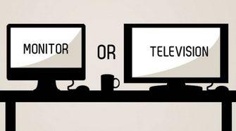 Чем отличается монитор от телевизора и что лучше