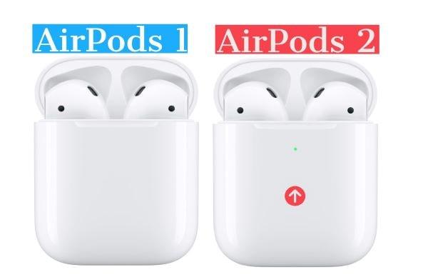 Чем отличаются Airpods от Airpods 2