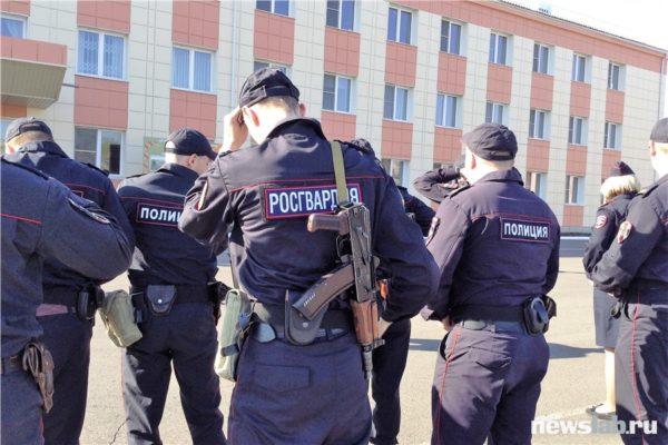 Отличия полицейских и росгвардейцев