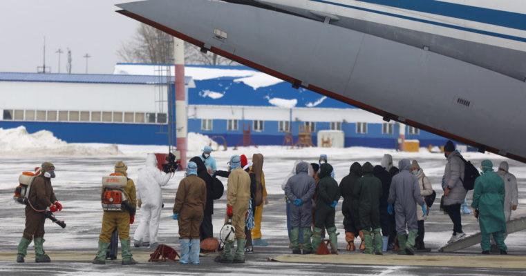 Прилетевших из Китая россиян поместили на карантин в санаторий